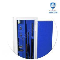 Cofre Armário 130x38x35 Branco ideal para 10 modelos (sendo 04 longas e 06 curtas) - Cofres Ventura