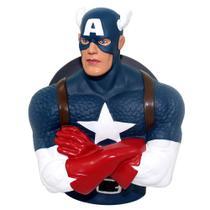 Cofre Busto Capitão América - Marvel