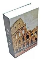 Cofre Camuflado Porta Joias Dinheiro Livro 24x16x6 cm - Unygift