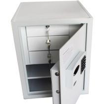 Cofre Company Diretor Eletrônico Digital + 3 Gavetas c/ Chave - Gold safe