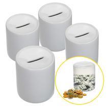 Cofre de Porcelana Branca p/ Sublimação - 6 unid - Inova