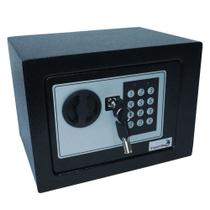 Cofre De Segurança Digital Aço 23x17 cm Importway -