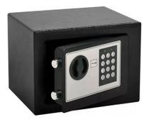 Cofre digital eletrônico com senha e chave aço 23x17cm - Importway
