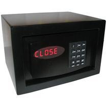Cofre Eletrônico c/ Auditoria Mod. Personal Black - Cofres Gold Safe -