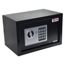 Cofre Eletrônico com Chaves 31x20x20cm AVB E20ST -