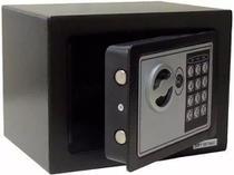 Cofre Eletrônico Digital Aço Teclado Senha + Chaves Parede - Quem Ver Compra