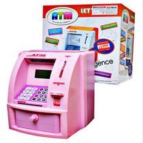Cofre eletronico digital cofrinho para notas e moedas lcd senha caixa de deposito de saque de dinheiro - Makeda