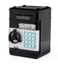 Cofre eletronico digital mini caixa com segredo de 4 digitos com insercao automatica de notas - Kangur