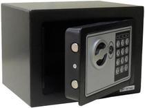 Cofre Eletrônico Digital Pequeno (17x23x17cm) CH-17EF Em Aço - Pelegrin