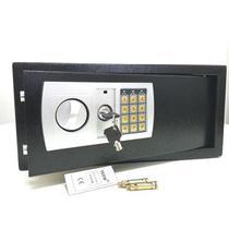 Cofre Eletrônico Digital Preto Grande Notebook Teem 43EDAP com duas chaves -