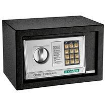 Cofre Eletrônico Digital Preto Ordene 38100 Aço Senha Chave -