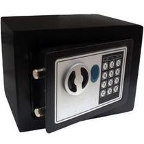 Cofre Eletrônico Digital - Senha e Chaves 23x17x17cm - Tendmix