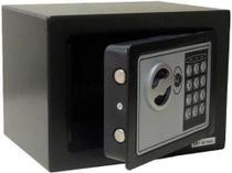 Cofre Eletrônico Digital Senha Ou Chave 23x17x17cm Modelo 17EDA para Pousada, Hotel e Residencias - Wap
