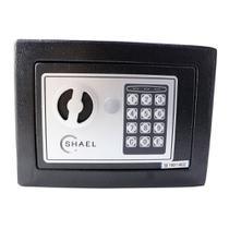 Cofre Eletrônico Digital Shael Senha Ou Chave 23x17x17 -