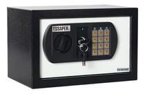 Cofre Eletrônico Digital Teclado Com Senha + 2 Chaves 20ed - Tssaper