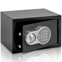 Cofre Eletrônico Digital Teclado Com Senha + 2 Chaves 31x20 - Importway