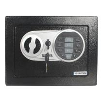 Cofre Eletrônico Digital Teclado Com Senha + 2 Chaves E17st - Tssaper