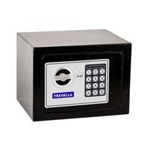Cofre Eletrônico Digital Trevalla TL-COF11C Aço Reforçado Preto -