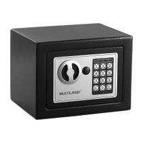 Cofre Eletrônico OF007 Multilaser - Preto -