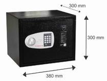 Cofre Eletrônico PABER para Notebook com abertura com senha ou com chave -