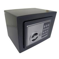 Cofre Eletronico Teclado Numerico 2 Chaves Segredo Preto - Black Bull