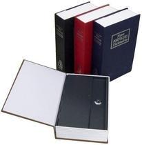 Cofre Grande Camuflado Livro Com 2 Chaves Porta Joias - Exclusivo