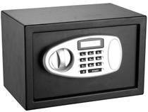 Cofre Pequeno Tela LCD com Chave de Segurança - Safewell Burglary Safe
