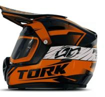 Cofre Pro Tork Mini Capacete Factory Edition Cross Laranja -