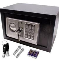 Cofre Segurança Eletrônico Chave Digital Aço Residencial - Ybx