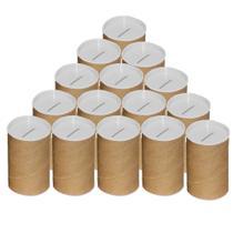 Cofrinho de papelão para personalizar branco - 06 unidades - LSCToys