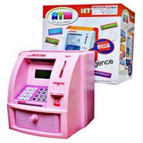 Cofrinho Digital Lcd Senha Cofre Eletronico Caixa Eletronico Infantil Automatico Alarme Moedas Notas - Makeda