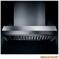 Coifa Parede de 90 cm Brastemp com 03 Velocidades - Gourmand - BAR90AR -