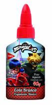 Cola Branca Escolar Miraculous Com Lacre Protetor 40g Tris -