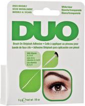 Cola para Cílios Postiços DUO Brush On Adhesive com Vitaminas A, C e E -