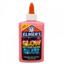 COLA ROSA GLITTER BRILHA NO ESCURO 147ML ELMER'S - Elmers -