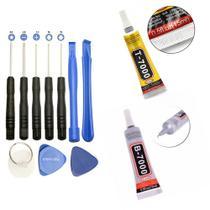 Cola T7000 B7000 15ml Para Reparos Celular Kit C/ 2 Unidades - KIT COM 2 UNIDADE DE COLA