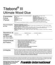 Cola Titebond Iii Ultimate Wood Glue 946ml -