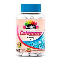 90ade7112 Colágeno Hidrolisado 1000mg - 60 Comprimidos - Lauton