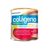 Colágeno Hidrolisado 2 em 1 Verisol - 250 Gramas - Maxinutri Frutas Vermelhas -