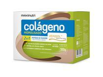Colágeno Hidrolisado 2 em 1 Verisol - 30 Sachês de 10g - Maxinutri Uva Verde -