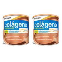 Colágeno Hidrolisado 2em1 Verisol - 2un De 250g  - Maxinutri -