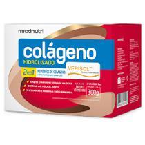 Colágeno Verisol Hidrolisado 2 em 1 c/ 30 sachês - MaxiNutri -