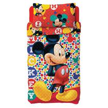 Colcha Dupla Face Mickey 1,60x2,20 - Lepper