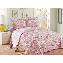 Colcha Evolution Patchwork Queen 240x260 Tagli Camesa -