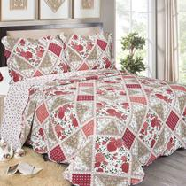 Colcha King Evoluition Patchwork Canton 260 x 280cm Camesa