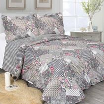 Colcha King Evolution Patchwork Corso 260 x 280cm Camesa
