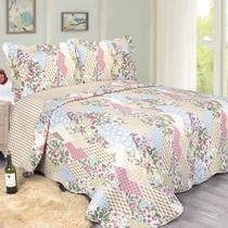 Colcha King Evolution Patchwork Uttica 260 x 280cm Camesa