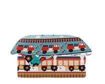 Colcha Matelasse Solteiro Infantil Patchwork Carrinhos 160x230 Camesa -