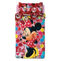 Colcha Minnie Dupla Face 1,60x2,20m 2 pc Lepper