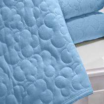 Colcha para Bebê Malha Buettner Azul - Bouton